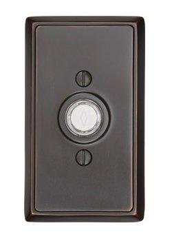 Emtek Rectangular Door Bell Button Hardwareexpedited Com